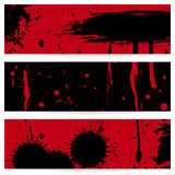 Grunge vector banners Royalty Free Stock Photos