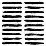 Grunge vector brushes. Set of grunge brushes. Design elements. Vector brushes. Watercolor brushes. Ink brushes. Abstract shape. Retro background. Vintage Royalty Free Stock Images