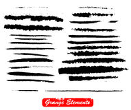 Grunge vector elements Stock Images