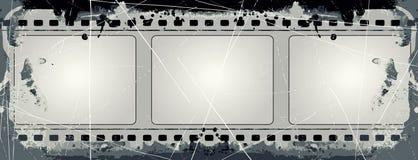 Grunge Vector Film Frame Stock Photos