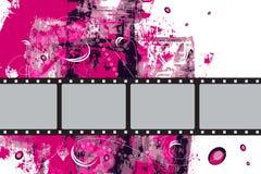 Grunge Vector Film Frame Stock Image
