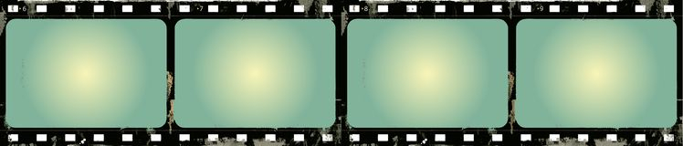 Grunge Vector Film Frame Royalty Free Stock Image