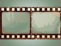 Grunge Vector Film Frame Stock Photo