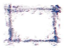 Grunge vector frame. Stock Images