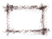 Grunge vector frame. Stock Photography