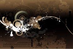 Grunge vector illustration Royalty Free Stock Photo