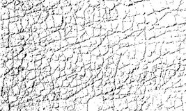 Vector texture of cracked asphalt surface. Grunge abstract background. Web of cracks and grains can be used for overlay. Stock Photography