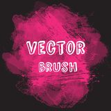 Grunge vector watercolor background. Vector brush. Hand-drawn illustration easy for your use. Grunge vector watercolor background. Vector brush. Hand-drawn Stock Images