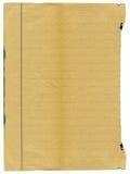 Grunge velho, papel manchado Fotografia de Stock