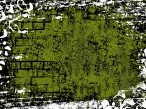 Grunge verde Immagine Stock Libera da Diritti