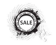 Grunge Verkaufs-Stempel Stockbild