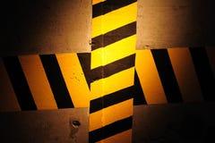 Grunge Verkehrsschild Lizenzfreies Stockbild