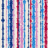 Grunge vertical striped pattern in retro style Royalty Free Stock Photos