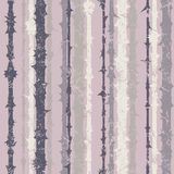 Grunge vertical striped pattern in retro style Stock Photos