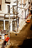Grunge view of Old Havana Royalty Free Stock Photos