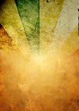 Grunge vintage background. Grunge sunburst on old paper Royalty Free Stock Images