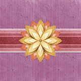 Grunge vintage banner recycled paper craft Royalty Free Stock Photo