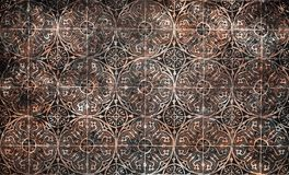 Grunge vintage ceramic tiles background stock photo
