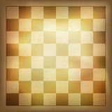 Grunge vintage chess background. Royalty Free Stock Photos