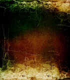 Grunge vintage colorful cracked texture. Royalty Free Stock Photo