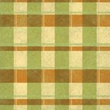 Grunge vintage distressed light green and brown vertical and horizontal stripes stock images