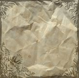 Grunge vintage floral background Royalty Free Stock Image