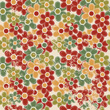 Grunge vintage floral seamless Stock Photography