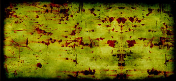 Grunge vintage golden toned rusty background - hi Stock Photo