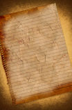 Grunge vintage old notepad paper texture  Stock Photo