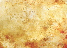 Grunge vintage old paper background, sepia color. Royalty Free Stock Photos