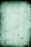 Grunge vintage paper. A piece of green grungy vintage paper Stock Photo