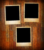 Grunge vintage photo frames Royalty Free Stock Photo