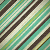 Grunge vintage retro background with stripes Stock Images