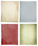 Grunge vintage retro  paper Stock Images