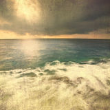 Grunge vintage seascape Stock Images