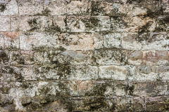 A grunge vintage stone wall stock photo