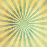 Grunge vintage sunburst background Stock Images