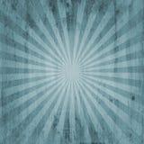 Grunge vintage sunburst background Stock Images