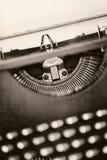 Grunge Vintage Typewriter Stock Image