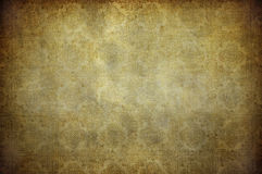 Grunge vintage wallpaper Stock Photography
