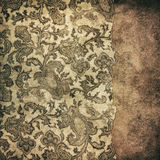 Grunge vintage wallpaper Royalty Free Stock Image