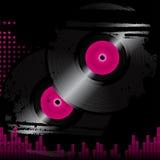 Grunge vinyl background Stock Photo