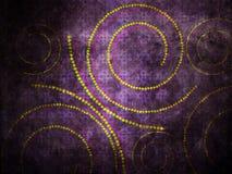 Grunge violet background Stock Images