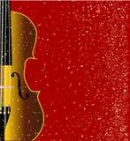 Grunge Violin Stock Images