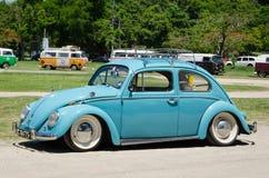 Grunge Volkswagen Beetle Obraz Stock