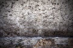 Grunge wall. Aged street wall background, texture Stock Images