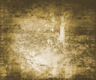 Grunge Wall. Urban grunge wall background abstract in brown tones Royalty Free Stock Images