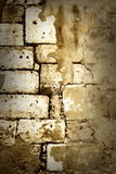 Grunge wall. Close up photo of old brick wall Royalty Free Stock Photo