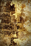 Grunge wall. Close up photo of old brick wall.Grunge style Stock Photo