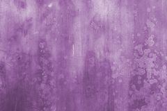 Grunge Wall Abstract Background in Purple Royalty Free Stock Photo